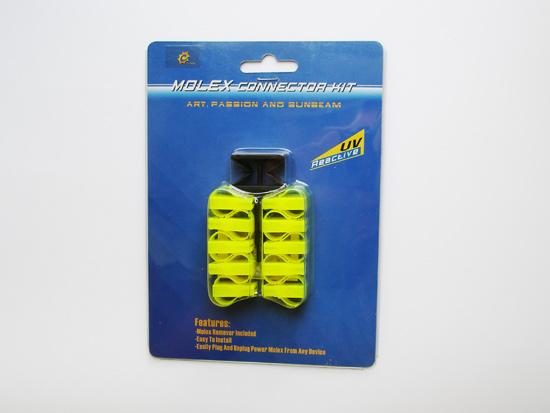 Вид спереди на набор Sunbeam EZ-Grip Molex Connector Kit