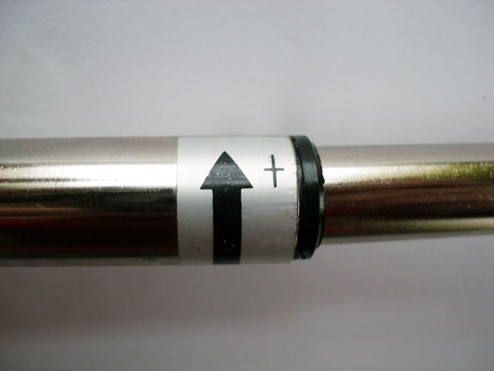 Крутить по стрелке для фиксации в разложенном состоянии