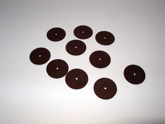 Десяток отрезных кругов, поставляемых в комплекте