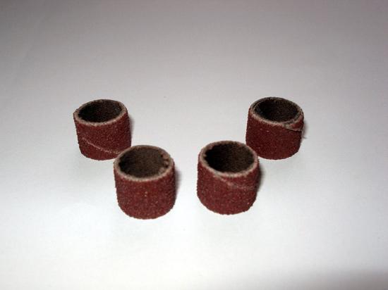 Шлифовальные насадки из «наждачки»