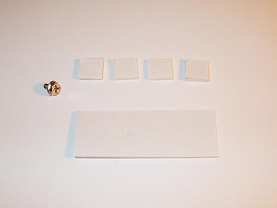 Комплект крепежных элементов лампы