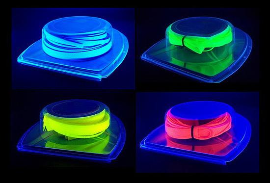Наборы Vizo Starlet Cable Binding Kit в четырех цветах по уф лампой