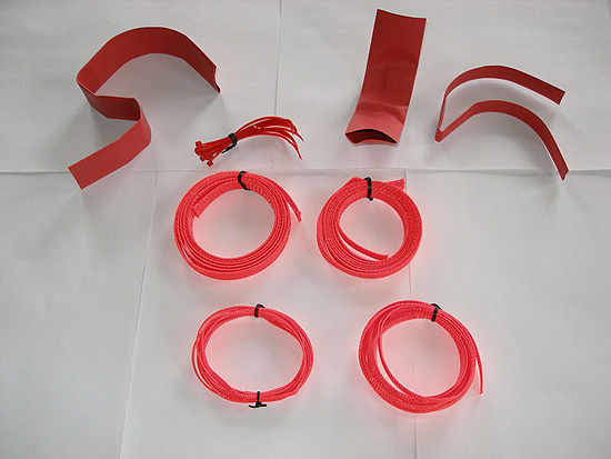 Содержимое набора Vizo Starlet Cable Binding Kit
