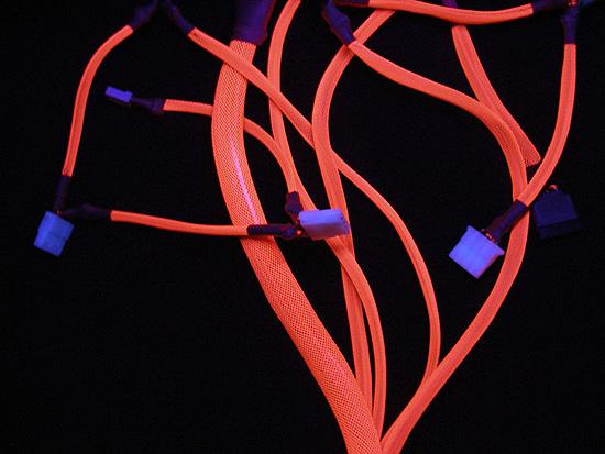 Яркое свечегие оплетки Vizo Starlet Cable Binding Kit