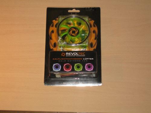 Упаковка вентилятора Revoltec Cold Cathode Fan