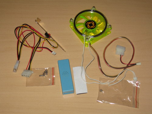 Полный комплект поставки Revoltec Cold Cathode Fan