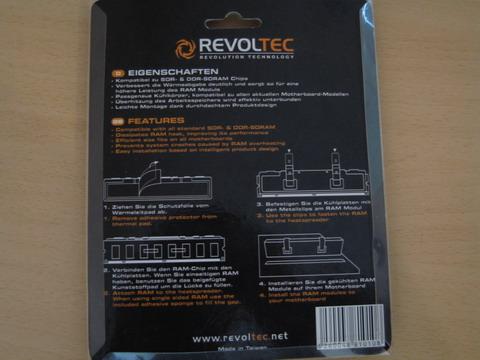 Вид сзади на упаковку Revoltec Ram Freezer