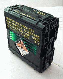 Моддинг проект в виде ящика с пушечными снарядами