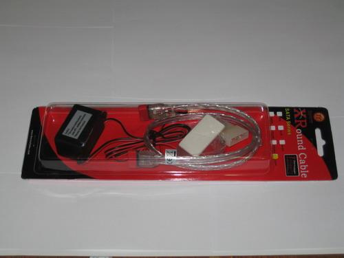 Белый кабель XRound SATA EL в упаковке