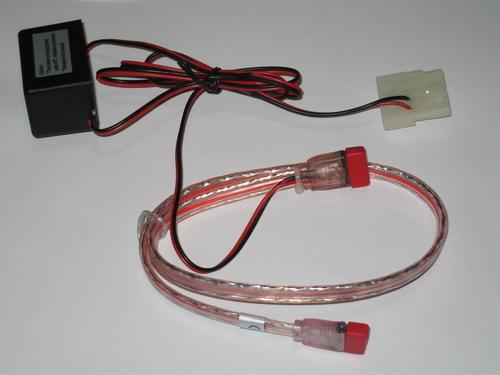 Красный SATA кабель