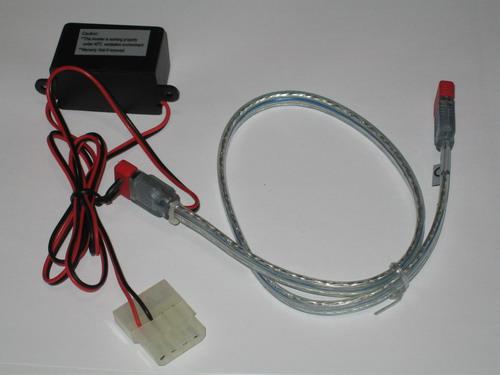 Синий SATA кабель