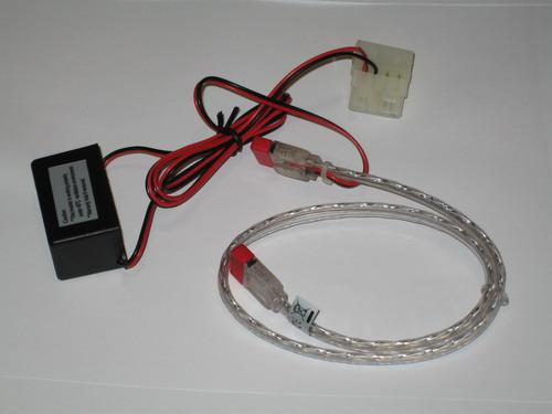 Белый SATA кабель