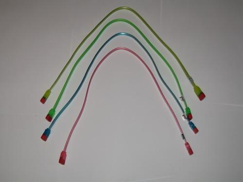 Тот же набор кабелей в сложеном виде