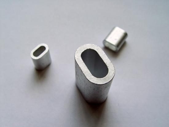 Алюминиевые наконечники тросов