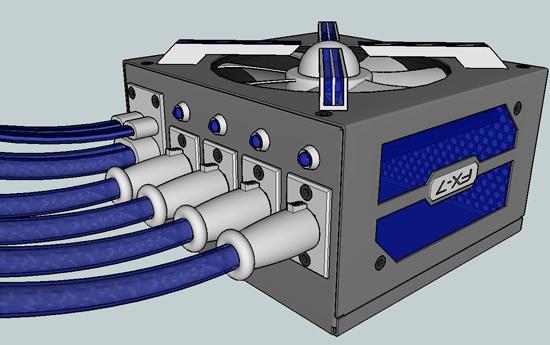 Трехмерная модель моддинг проекта