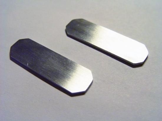 Два контура из алюминия