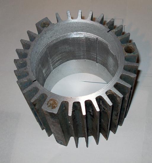 Алюминиевый радиатор круглой формы