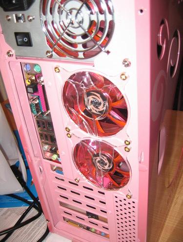 Сдвоенный кастом гриль на вентиляторах