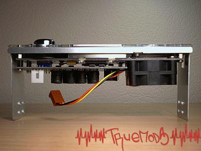 Вид сверху на констркцию Cooler Master Aerogate II