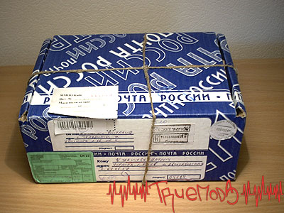 Почтовая коробка с товаром