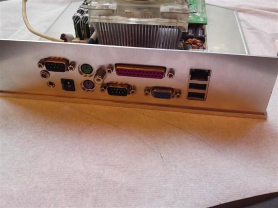 Изготовление I/O панели корпуса