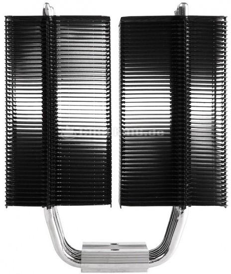 Вид сбоку на радиатор Black Series Megahalems