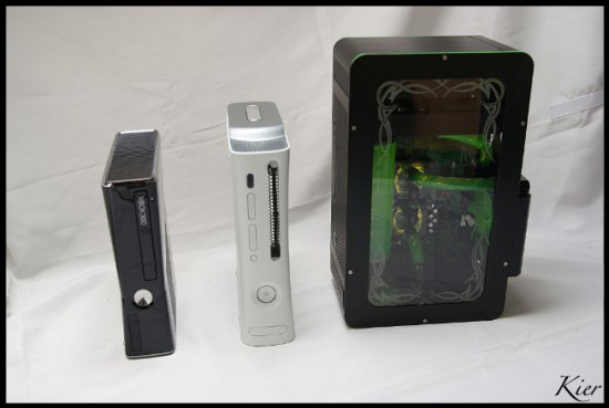 Моддинг проект XBOX SUPREME на фоне двух версий игровой консоли xBox 360