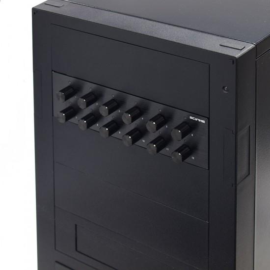 Реобас Kaze Q12 в компьютерном корпусе