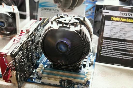 Zalman CNPS12X нельзя назвать компактным кулером ;)