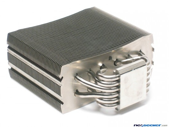Общий вид радиатора в кулере NZXT Havik 140