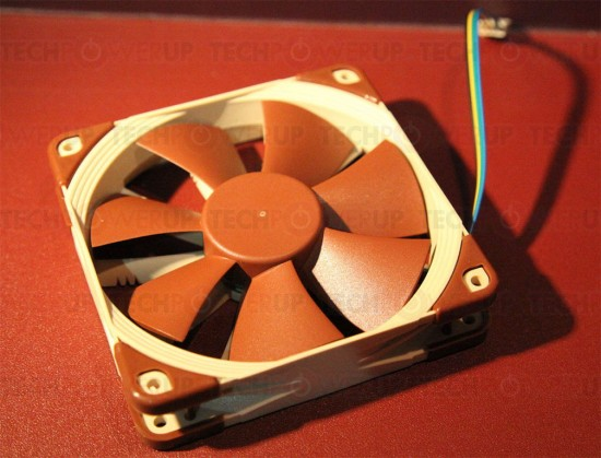 Общий вид вентилятора с конструкцией Focused Flow
