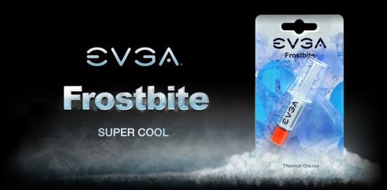 Очередная новинка от EVGA — термопаста Frostbite
