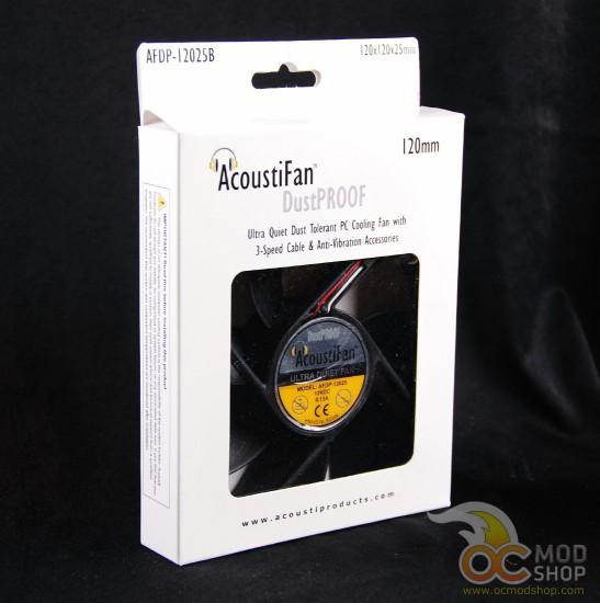 Вентилятор AcoustiFan DustProof 120mm в своей фирменной упаковке