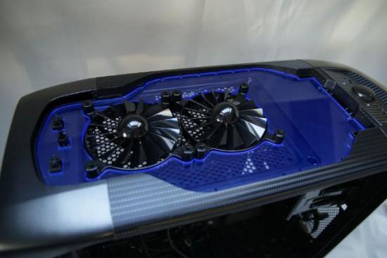 Использование акриловых деталей в проекте Corsair Graphite 600T MbK
