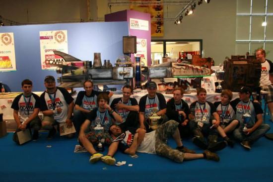 Команда моддеров Team Aquatuning с одноименным проектом