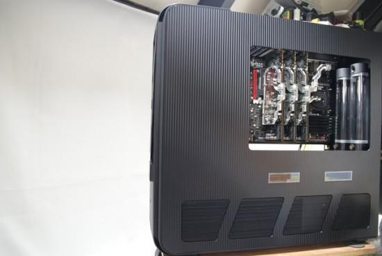Моддинг проект Silverstone TJ11 Carbon от моддера kier
