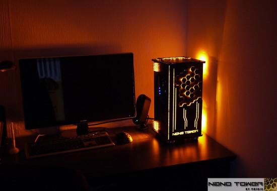 Моддинг проект PHINIX NANO TOWER на столе