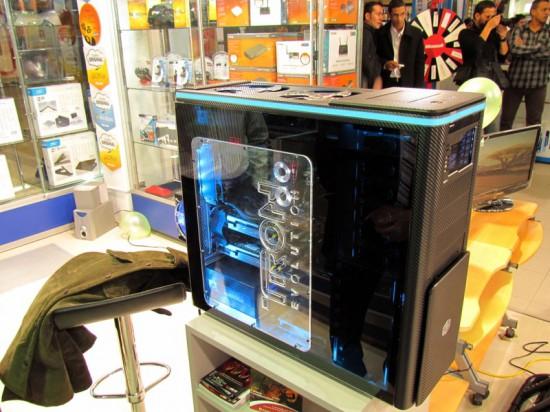 Общий вид моддинг проекта Cooler Master ATCS-840 TRON EVOLUTION MOD в три четверти