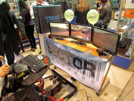 Игровой сетап с проектом Cooler Master ATCS-840 TRON EVOLUTION MOD