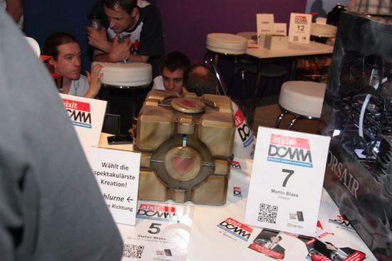 Проект WCC: a Present from GlaDOS на выставке Gamescom