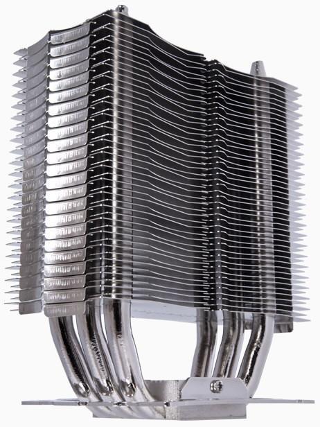 Радиатор в кулере Alpenfohn Triglav оснащен тремя толстыми теплотрубками