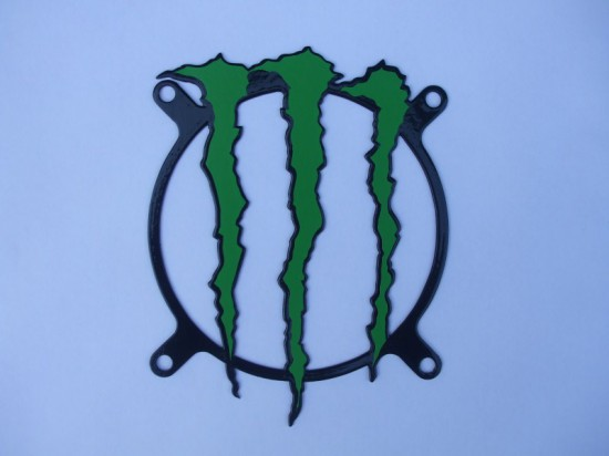 Кастомный гриль в стиле Monster Energy