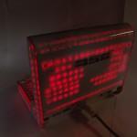 DJ SOUND CONTROL со включенной красной подсветкой