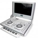 DJ SOUND CONTROL с выдвинутой музыкальной клавиатурой