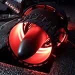 Вентилятор, стилизованный под реактивный двигатель