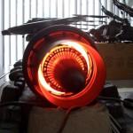 Внутренности «реактивного двигателя» в проекте Airbender