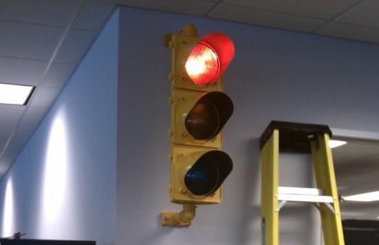 Общий вид готового светофора