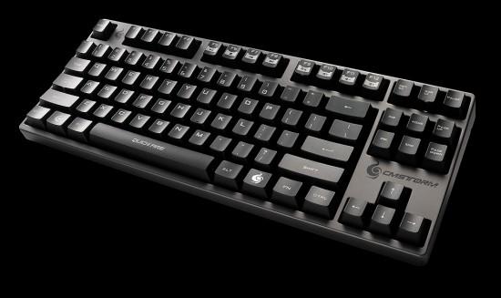 Общий вид геймерской клавиатуры CM Storm QuickFire Rapid