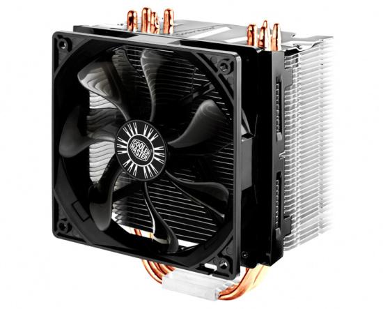 Общий вид процессорного кулера Hyper 412 PWM от Cooler Master