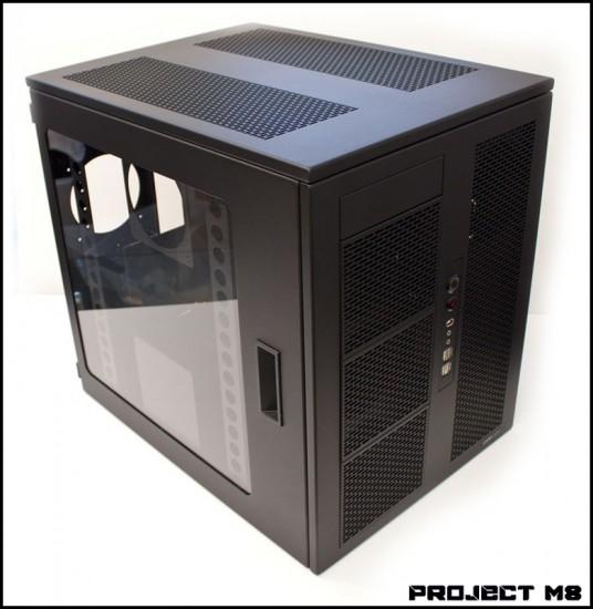 Общий вид компьютерного корпуса M8 от CaseLabs